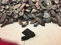 Boots shoes sandals of the Jews in Auschwitz! (Mgk53) Tags: suede leather belittle dignity belongings stripped childrensshoes womensshoes mensboots