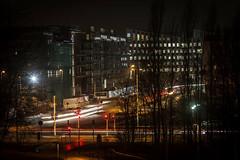 Night traffic (Håkan Dahlström) Tags: 2017 architecture hyllie night photography skåne street sweden traffic winter malmö canoneos5dmarkii f56 60sek ef200mmf28lusm uncropped 118012017180728 lindeborg se