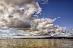 Enormous cloud (iosif.michael) Tags: sony a55 larnaca landscape cyprus saltlake sky blue