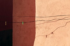 Strings and Possibilities... (RKAMARI) Tags: 2016 ffatolye konya kulu art color contemplative graphical minimalist rural street zen abstract