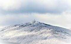 La vierge du Montalet (La Magie Du Moment) Tags: nature nikon neige montagne monts froid hiver horizon hauteur blanc beau paysage extérieur de lacaune tarn tranquille