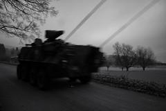 be prepared... (Toni_V) Tags: m2402712 rangefinder digitalrangefinder messsucher leica leicam mp typ240 28mm elmaritm12828asph schützenpanzer tank army swissarmy motion blur movement switzerland schweiz suisse svizzera svizra europe solothurn blackwhite bw monochrome schwarzweiss niksoftware sep2 silverefexpro2 winter ©toniv 2016 161229 gnöd