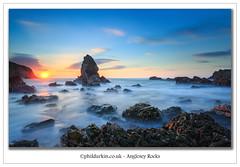 Anglesey Rocks (Phil Durkin) Tags: anglesey canon5dmkiii phildurkin sea stack sunset wales daytime landscape longexposure rocks shoreline tidal tide water waves holyhead