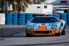 #9 JeffMcKee 1966 SPF.GT40-1 (rickstratman26) Tags: historic sportscar racing car cars racecar racecars motorsport motorsports classic 23 hour sebring international raceway florida canon spf ford gt gt40 40