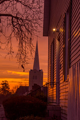 Morning Glow (Jon Ariel) Tags: sunrise georgia ga gwinnett lawrenceville church morning