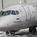 SSJ100 in Aeroflot Livery