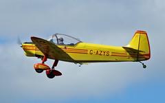 "G-AZYS CP.301C1 Emeraude Sturgate  EGCV Fly In 07-06-15 (PlanecrazyUK) Tags: ""fly in"" sturgate 070615 gazys egcv cp301c1emeraude"