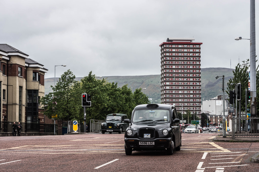 DIVIS TOWER IN BELFAST CITY [NORTHERN IRELAND] REF-104933