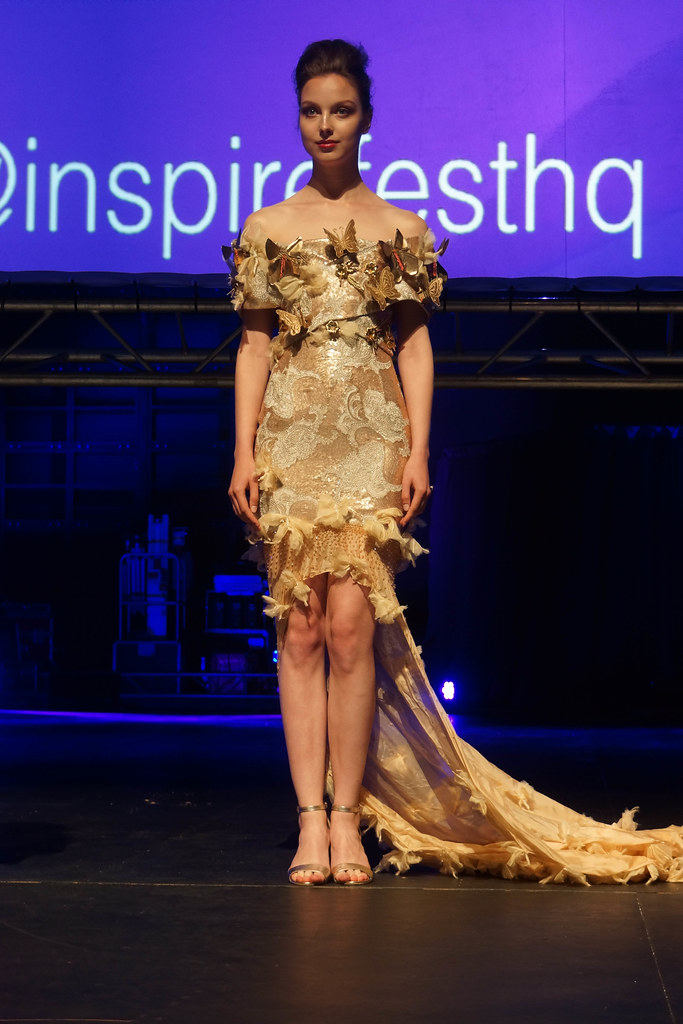 MARTINA LAWLOR PRESENTS THE INTERACTIVE BUTTERFLY DRESS [INSPIREFEST 2015]REF-105713