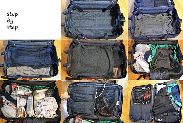 3Hãy để đồ đạc gọn gàng và bao bọc trước khi để vào vali
