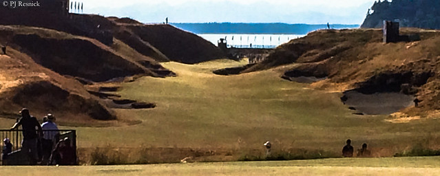10th Hole at Chambers Bay GC