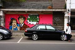 (Johanes Tarigan) Tags: street boy party art cars canon indonesia lens photography eos sp if af tamron f28 xr ld bogor jabar aspherical 1750mm jawabarat 40d thrid suryakencana surken streetwallpainting streetwallpaint