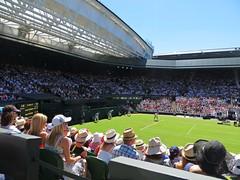 Centre Court, Wimbledon (babs pix) Tags: tennis wimbledon centrecourt rogerfederer wimbledon2015