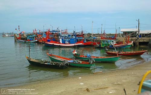 Laem Tan Port, Rayong, Thailand 2015
