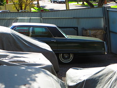 1968 Chrysler Imperial Crown Sedan (RS 1990) Tags: car sedan july 2nd collection american covered imperial adelaide crown 1968 chrysler thursday import southaustralia rare uncommon 2015 modbury teatreegully faulknerst wrightrd