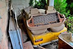 fiat 124 special (riccardo nassisi) Tags: auto abandoned car pc rust fiat rusty wreck piacenza wrecked ruggine relitto urbex rottame bettola epave abbandonata