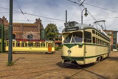Haagse PCC tram nr 1022 (robdeheer) Tags: dutch museum canon den tram hague publictransport haag streetcar thehague nostalgie pcc sgravenhage pcccar canon7d hovm pcctrams haagsopenbaarvervoermuseum denhaag2015