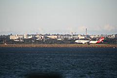 2015 Sydney: Botany Bay #14 (dominotic) Tags: beach water plane airplane boat yacht jet sydney australia nsw newsouthwales watersports tasmansea qantas botanybay tanker sydneyairport brightonlesands portbotany 2015 penalcolony airportrunway sydneykingsfordsmithairport australianpenalsettlement