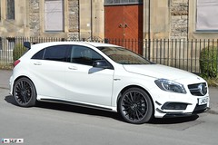 Mercedes Benz A45 AMG Glasgow 2015 (seifracing) Tags: rescue cars mercedes benz scotland europe traffic britain glasgow transport scottish police vehicles emergency a45 polizei spotting services recovery strathclyde amg brigade ecosse 2015 seifracing