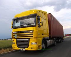 DAF XF 105.410 (michaelausdetmold) Tags: daf xf lkw truck fahrzeug sattelzugmaschine szm