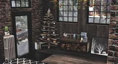 #389 Its a Christmas Black Roof Brick Home Pt 2. (|| Bonnii Hendes || Blogger || Decorator) Tags: digs apt b n4rs lisp haikei sways tres blah junk kustom9