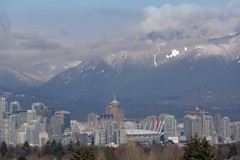 Vancouver downtown (yuanxizhou) Tags: sky cloud photography landscape winter snow mountain bcplace skyline downtown view vity holidayseason holiday merrychristmas christmas