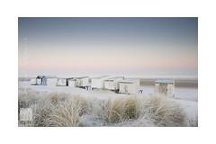 winter beach (Emmanuel DEPARIS) Tags: chalet cabine cabane plage beach mer du nord france haut de pas calais sangatte chanel manche emmanuel deparis nikon d810