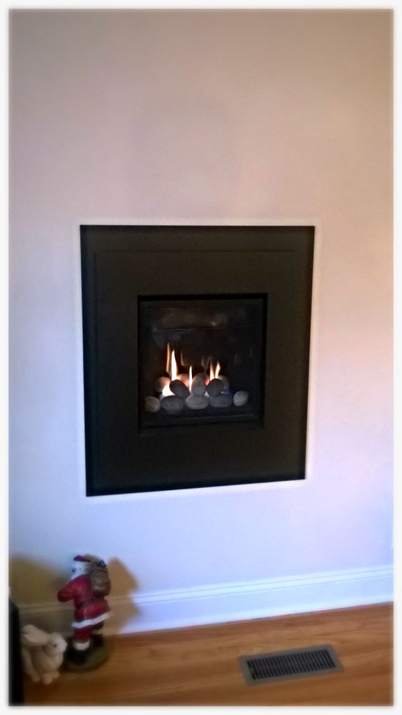 Valor Portrait Direct Vent Gas Fireplace. Chattanooga, Tn.