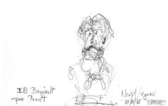 Niort, Musée Bernard d'Agesci, peintres et sculpteurs régionaux (Croctoo) Tags: niort musée agesci croctoo croquis croctoofr crayon