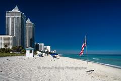 Miami Beach (http://arnaudballay.wix.com/photographie) Tags: d610 floride miami beach city landscape littoral mer nikkorafs24120mmf4 nikon plage sea seascape urbain usa ville miamibeach étatsunis us usflag starandstripes flag