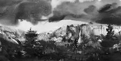 Working up 2017_01_06, Bridal Falls, Yosemite