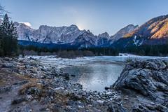 Fusine lake...winter view (LucaValvasonSerodine) Tags: fusine lake lago friuli mountain montagna view cold freddo