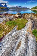 Kjerringvikstraumen (Normann Photography) Tags: ballangen kjerringvikstraumen nordnorge nordland dof lake landscape leadingin mountains northernnorway rocks