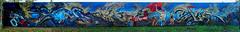 The complete wall: Consume - Artists: Hightech Crew (pharoahsax) Tags: graffiti mainzkastel mainz kastel wb pmbvw bw hessen süden deutschland kunst art streetart street urban urbanart paint graff wall germany artist legal mural painter painting peinture spraycan spray writer writing artwork tag tags worldgetcolors world get colors hightech crew