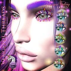 Vengeful Threads - Catwa Lashes - Unicorn Fantasy (Vixn Dagger - Vengeful Threads) Tags: vengefulthreads catwa lashes makeup