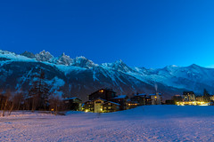 Chamonix-Mont-Blanc, France (Wolfhowl) Tags: night frenchalps landscape winter chamonixmontblanc mountains moon 2016 франція alpinemountains travel montblancmassif montblanc шамоні moonlight france europe chamonix alps