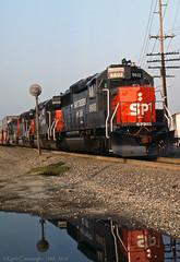 Shiny (GRNDMND) Tags: trains railroads southernpacific sp espee locomotive emd gp60 spadra pomona california