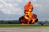 Kaboom! RNAS Yeovilton, Somerset (Kev Slade Too) Tags: fire zj223 agustawestland apache gunship roledemo armyaircorps egdy rnasyeovilton somerset