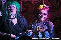 hallowscream16 (Against The Grain Photography) Tags: devoleb secret light hallowscream shadow image bat city productions againstthegrainphotography halloween slims last chance saloon
