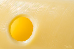 Between the Holes (Inky-NL) Tags: macro kaas käse macromondays saycheese cheese fromage ingridsiemons©2017 abstract yellow hole food fuji fujixt2 fuji60mmf24 hmm mm minimalisme minimalistic texture textuur