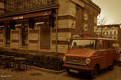 Emergency (ericbaygon) Tags: brussel bruxelles car opel oldtimer vintage nikon d750 marolle blegique belgium fx