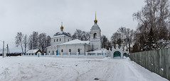 Church Of The Resurrection, Russia (Oleg.A) Tags: winter church cloudy orthodox frost rural cathedral villiage russia catedral sushki ryazanskayaoblast ru