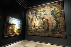 Diana y la ninfa Calisto (KRONOS Servicios de Restauración) Tags: kronos tapices restauración lidiasantalices mnad puebla barroco