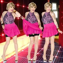 home14163-65 (Ann Drogyny) Tags: shoes legs heels crossdress crossdresser crossdressing cd tv tg ts transvestite transgender transsexual tranny tgirl glamour pinup mature cute sexy stockings nylons suspenders garters