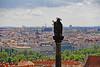 Curious (Ellsasha) Tags: statue prague praguecastle cityscape centraleurope czechrepublic views view city gardens column question ourladyofeinsidelon history historical hradčany pietàstatue