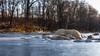 Solid frozen river (Role Bigler) Tags: canoneos5dmkii ef282470lusm emme emmental landschaft riveremme schnee schweiz suisse switzerland cold frozen frozenriver frozenwater landscape snow winter