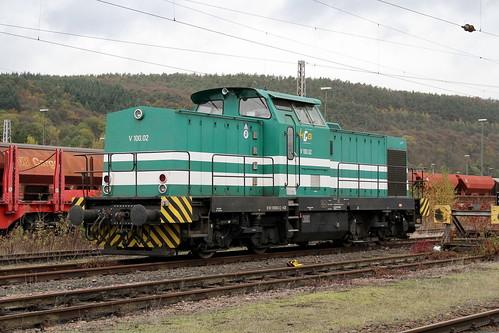 HGB V100-02 293 006-3 Trier-Ehrang