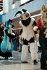 FCParade2017_02_-20170114-00068 (Kory / Leo Nardo) Tags: fur furry fursuit suiting dance party dj con convention further confusion fc san jose marriott center parade walk march fc2017 2017 pupleo kory