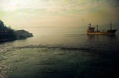 Bosphorus Bridge Istanbul AGFA ISO100 (eefzed) Tags: sky film canon turkey iso100 ae1 istanbul canonae1 agfa agfaiso100 agfafilmiso100
