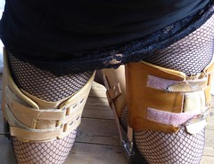Kneeling (JKiste2008) Tags: leg brace caliper